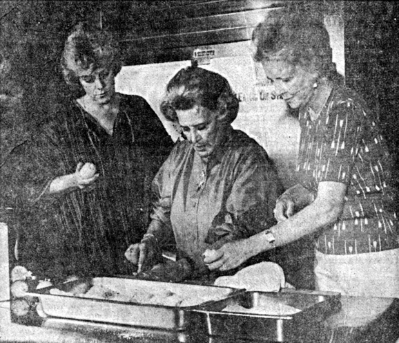 RoseMarie cooking with Rosemary Clooney and Helen O'Connell